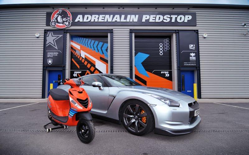 Adrenalin Scooter Performance Parts May 2012