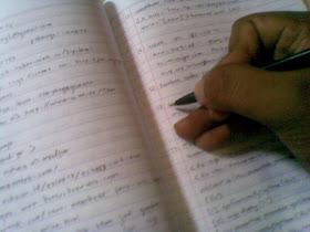 Blog adalah tempat imajinasi dalam menulis