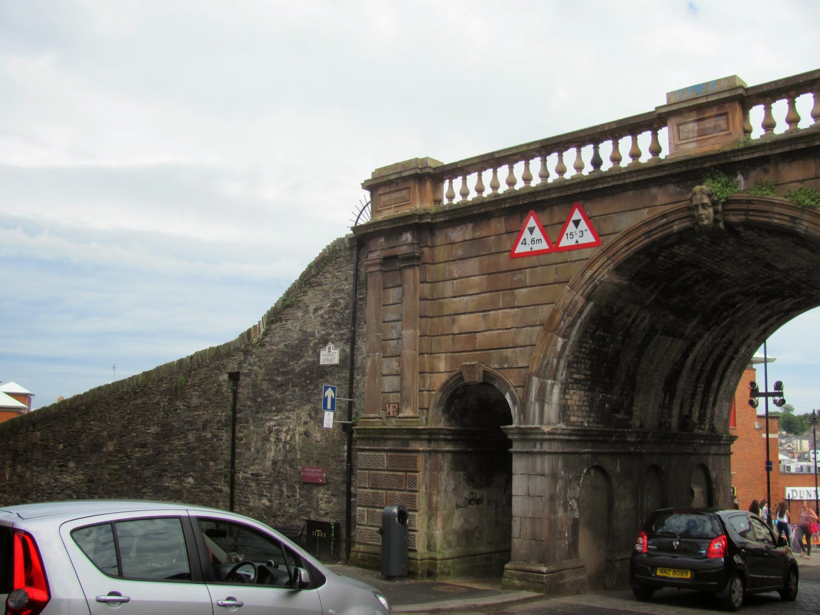 Derry City Wall Gate