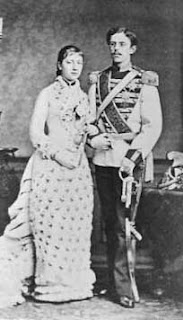 Gustav V de Suède 1858-1950 et Victoria de Bade 1862-1930