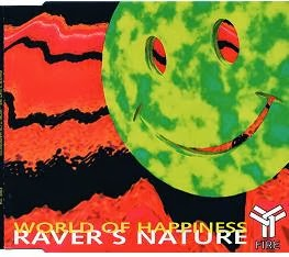 Raver's Nature - World of happiness kislemez