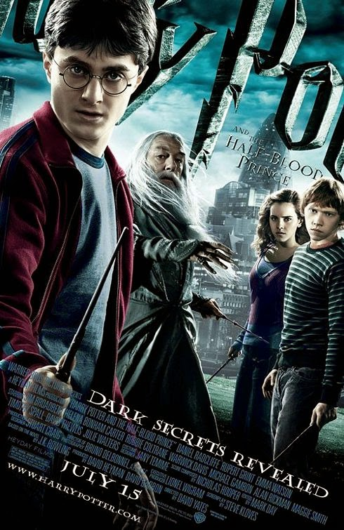 Harry Potter Half-Blood Prince movie poster