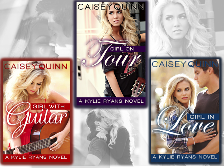Re-reveal Covers and a Giveaway for #KylieRyans series by Caisey Quinn