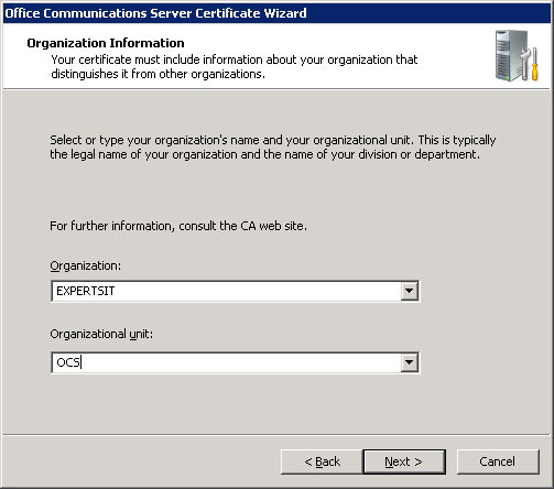 ExpertsIT Blog: OCS: Certificate for local system with Thumbprint ...