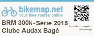 Mapa + Altimetria BRM 300k Série 2015