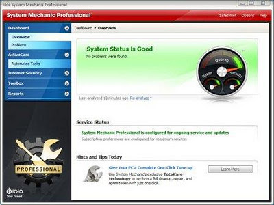 System Mechanic Professional 10.8.3