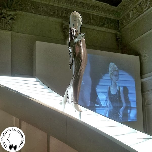 Donne protagoniste del Novecento - Patty Pravo - Gianni Versace oroton dress for Sanremo 84 - Galleria del Costume Firenze - Nov 2013