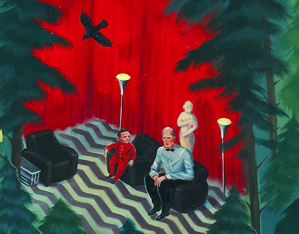 nuncalosabre. In the Trees: Twin Peaks 20th anniversary Art Show