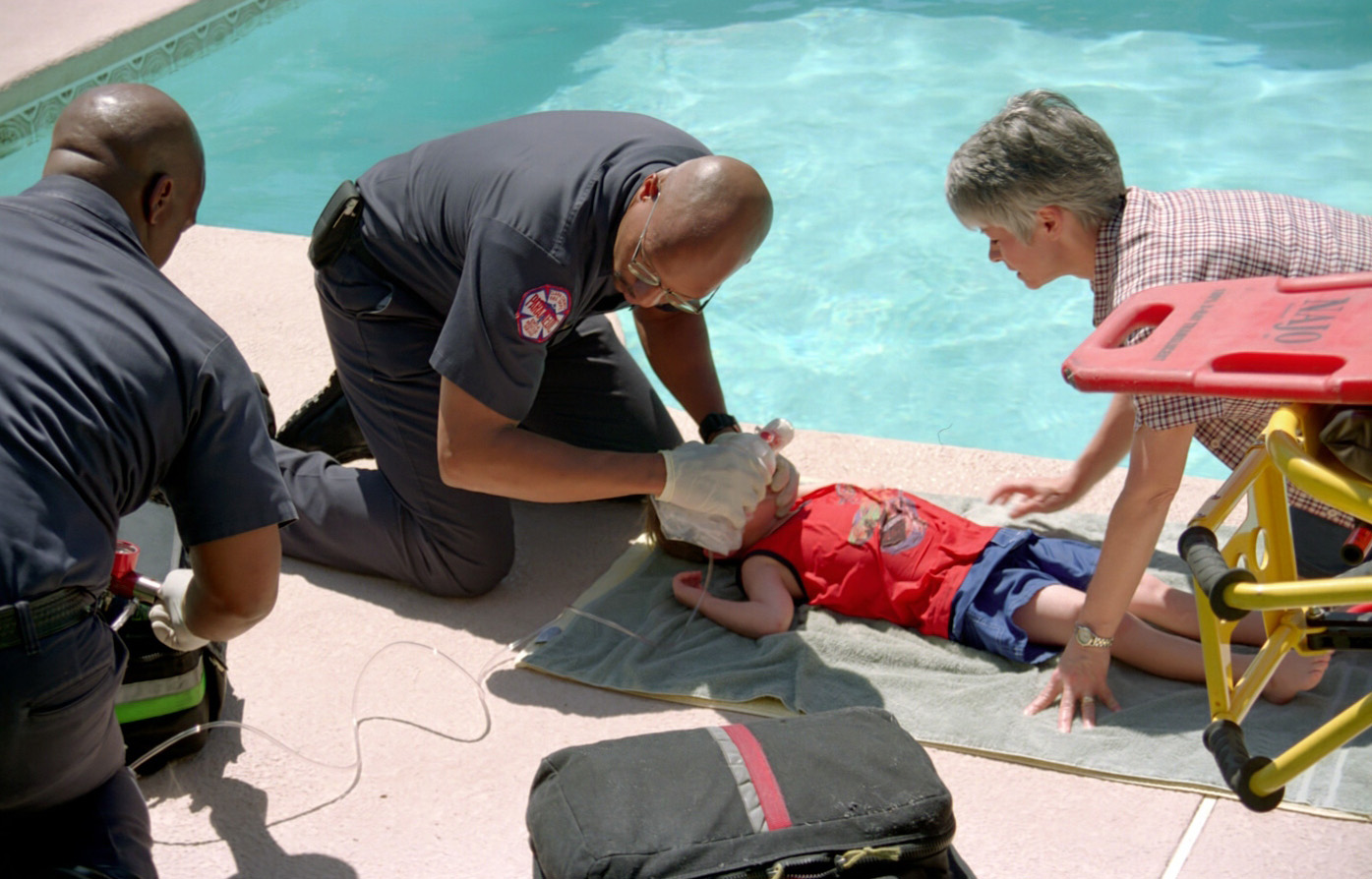 drowning and swimming pools The slidell police department is investigating the death of 4-year-old timothy brooks, who was found unresponsive in a swimming pool monday evening.