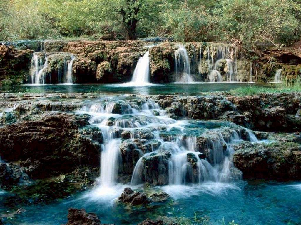 Kinds of wallpapers natural waterfall wallpaper - Nature wallpaper of waterfall ...