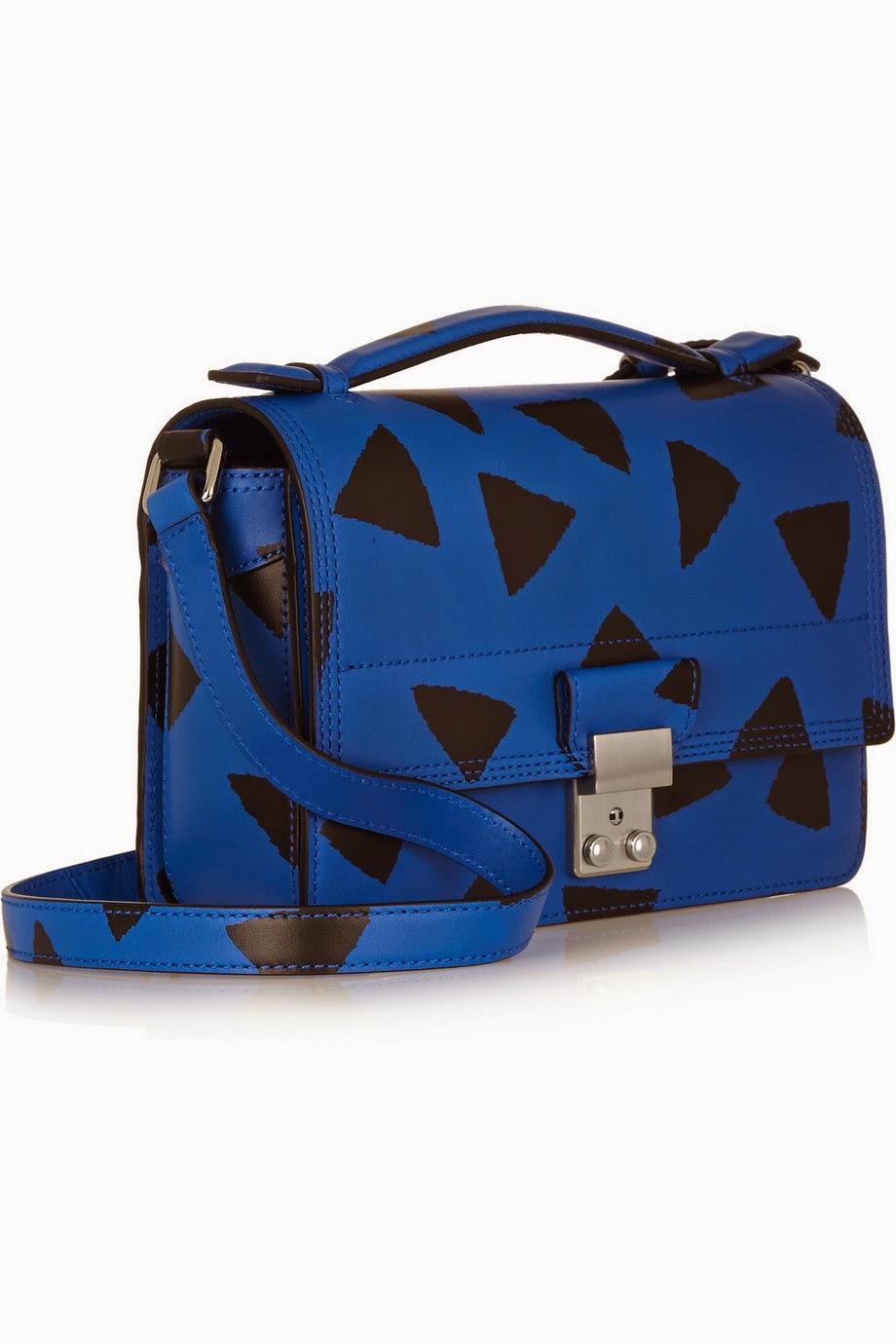 Net-a-Porter 3.1 Phillip Lim The Pashli Mini Messenger printed leather shoulder bag