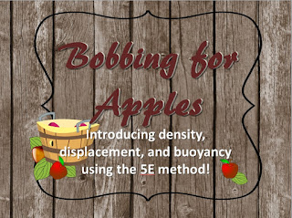 https://www.teacherspayteachers.com/Product/Bobbing-For-Apples-Density-Displacement-and-Buoyancy-Lab-2138809