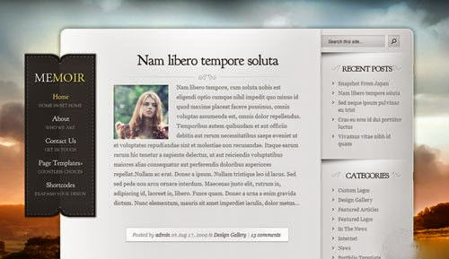 Memoir ElegantThemes Wordpress Theme Version 3.3 free