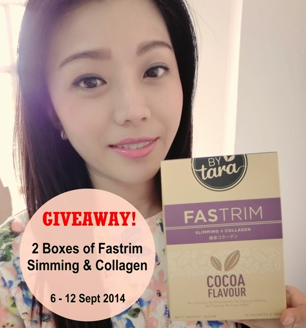 Giveaway Fastrim Slimming & Collagen, Giveaway, Fastrim Slimming & Collagen, ByTara, Slimming drink,