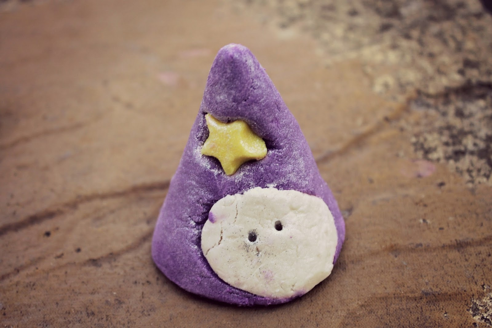 cute halloween bath bomb