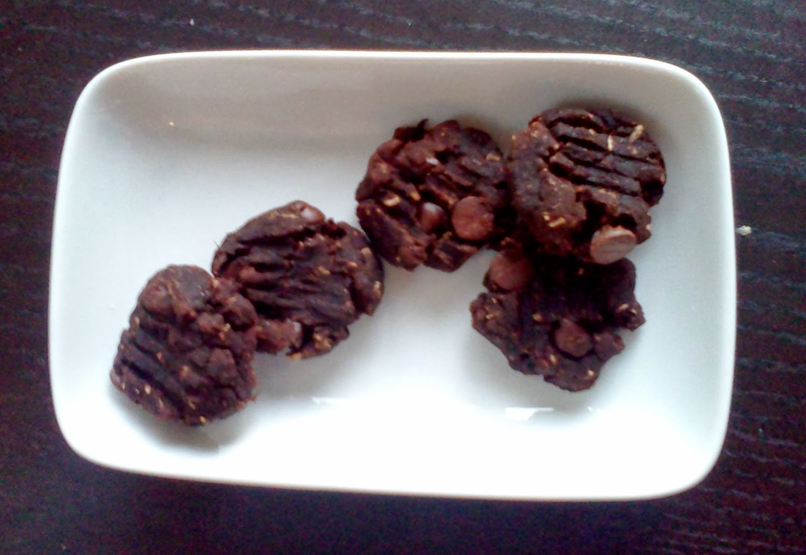 Double Chocolate Almond Pulp Cookies