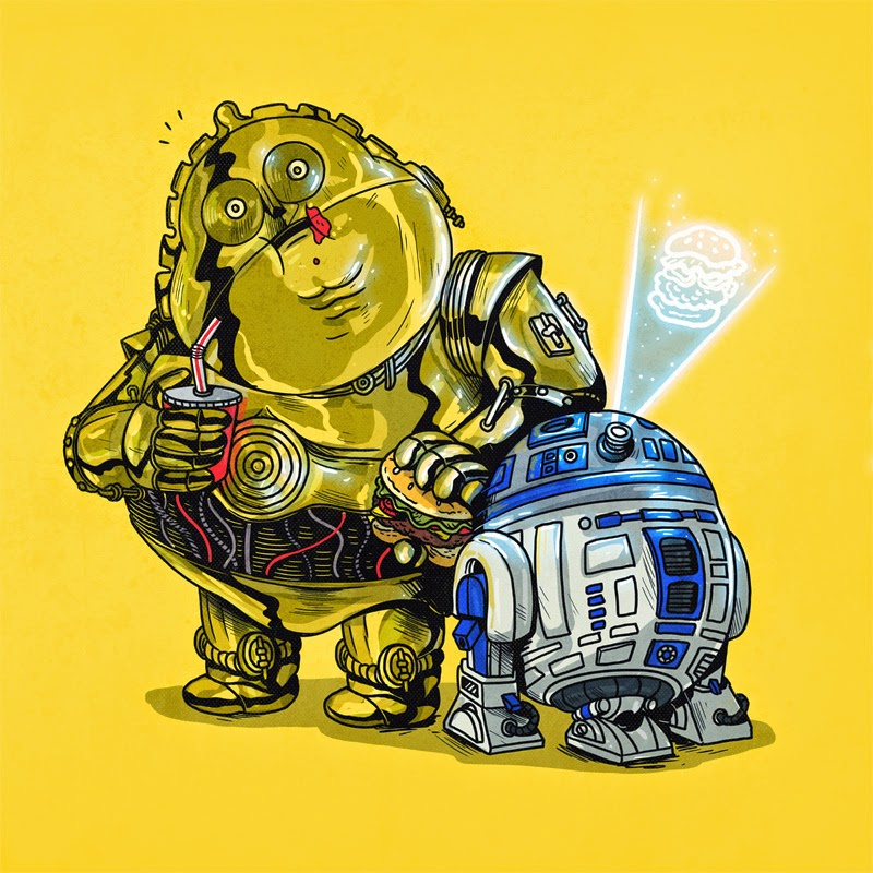 ''Chunky C-3PO & R2D2''