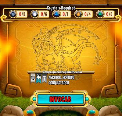 imagen de las caracteristicas del dragon ankeror