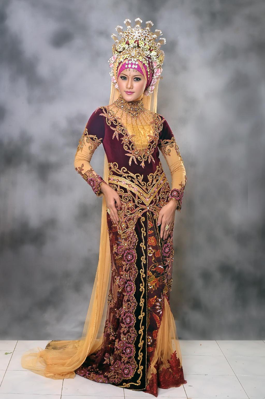 Kebaya Wisuda Modern Lengan Pendek Kebaya Wanita In...