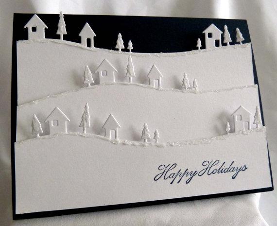 unique christmas card designs - Fancy Christmas Cards
