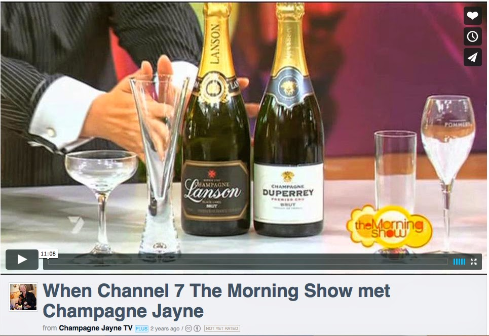 Jim's Loire: Champagne Jayne's trial starts tomorrow in Melbourne