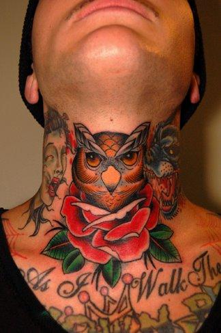 Tatuagem de Coruja - Owl Tattoo
