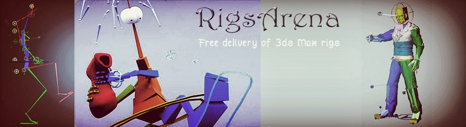 RigsArena - Free Delivery of 3DS Max Rigs
