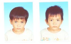 achik ain lovely twin