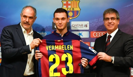 Thomas Vermaelen set for Barcelona debut