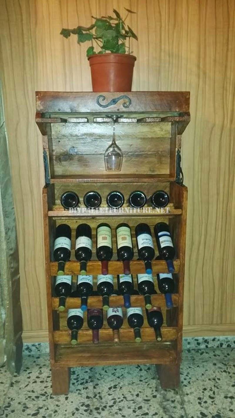 Opciones de botelleros de vino - Muebles para poner botellas de vino ...