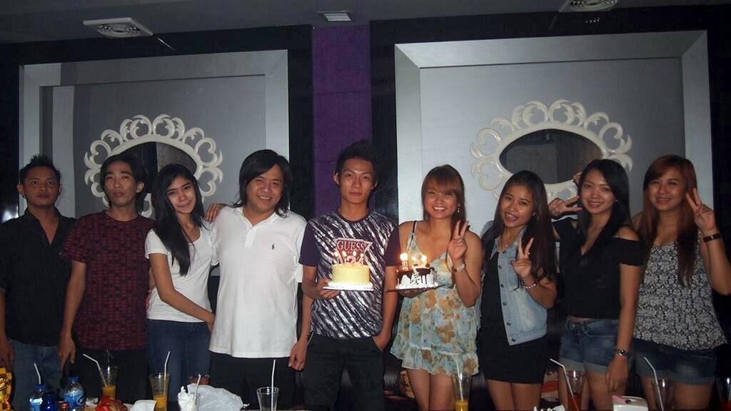 ulang tahun member hello fktv karaoke