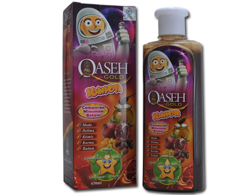 QASEH GOLD JUNIOR RM66/450ML