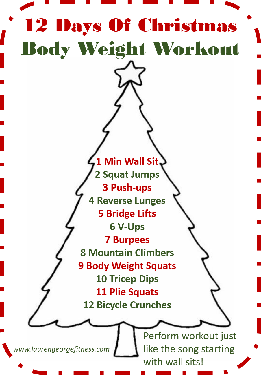Workout Wednesday Christmas Eve Edition! | Fun, Fit and Fabulous!
