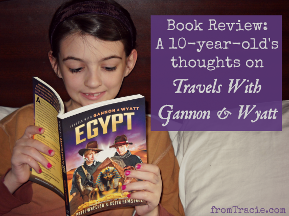 Katarina Reading Egypt - A 10-Year-Old's Thoughts On Travels With Gannon And Wyatt