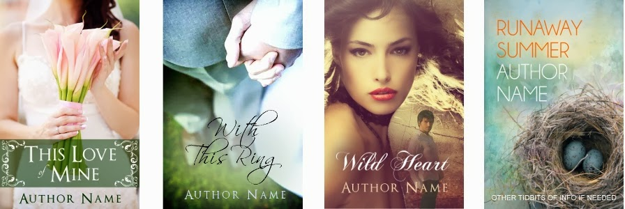 premade book covers before tweak