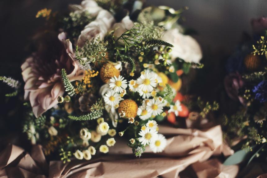 melbourne field flowers bridal bouquet