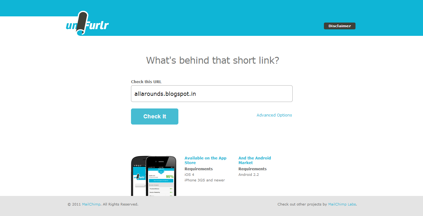 how to create a short link for a url