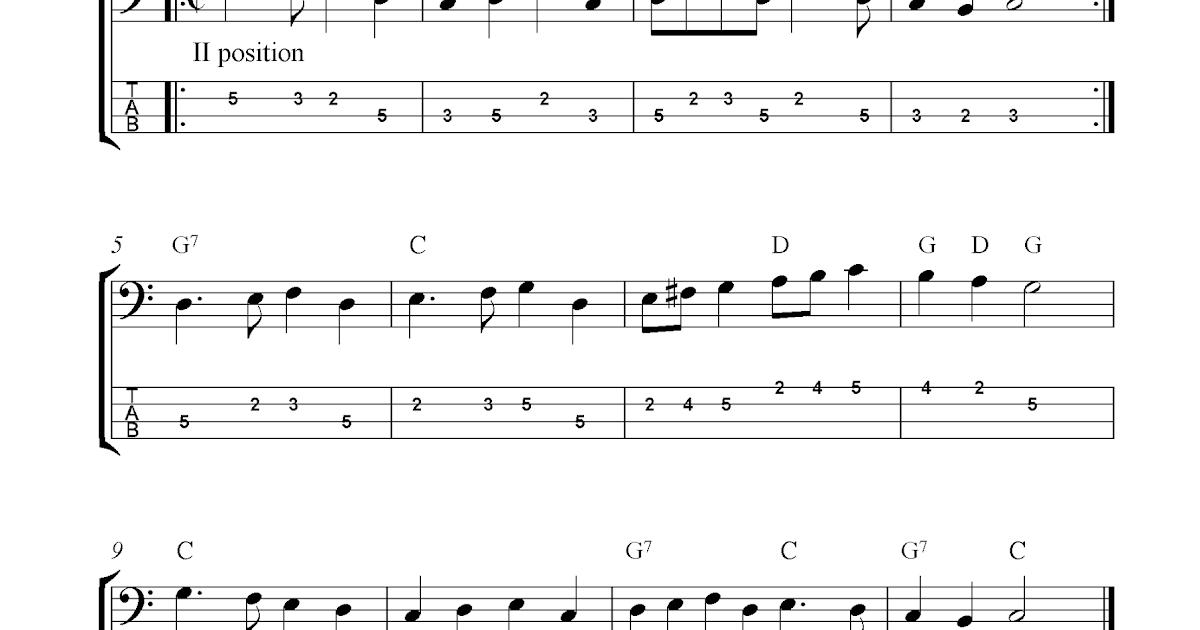 Deck The Halls Guitar Chords