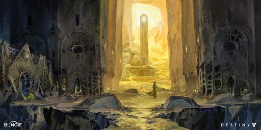 Destiny hive catacombs concept art