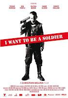Cartel de la película De mayor quiero ser soldado
