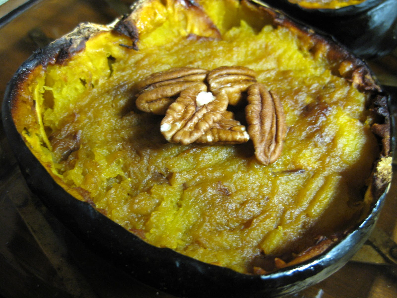 Don't forget to save the seeds to roast alongside the squash! Just ...