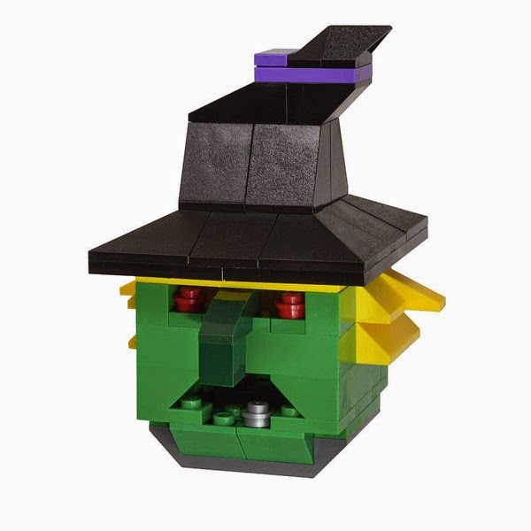 Đồ chơi LEGO Halloween Phù thủy