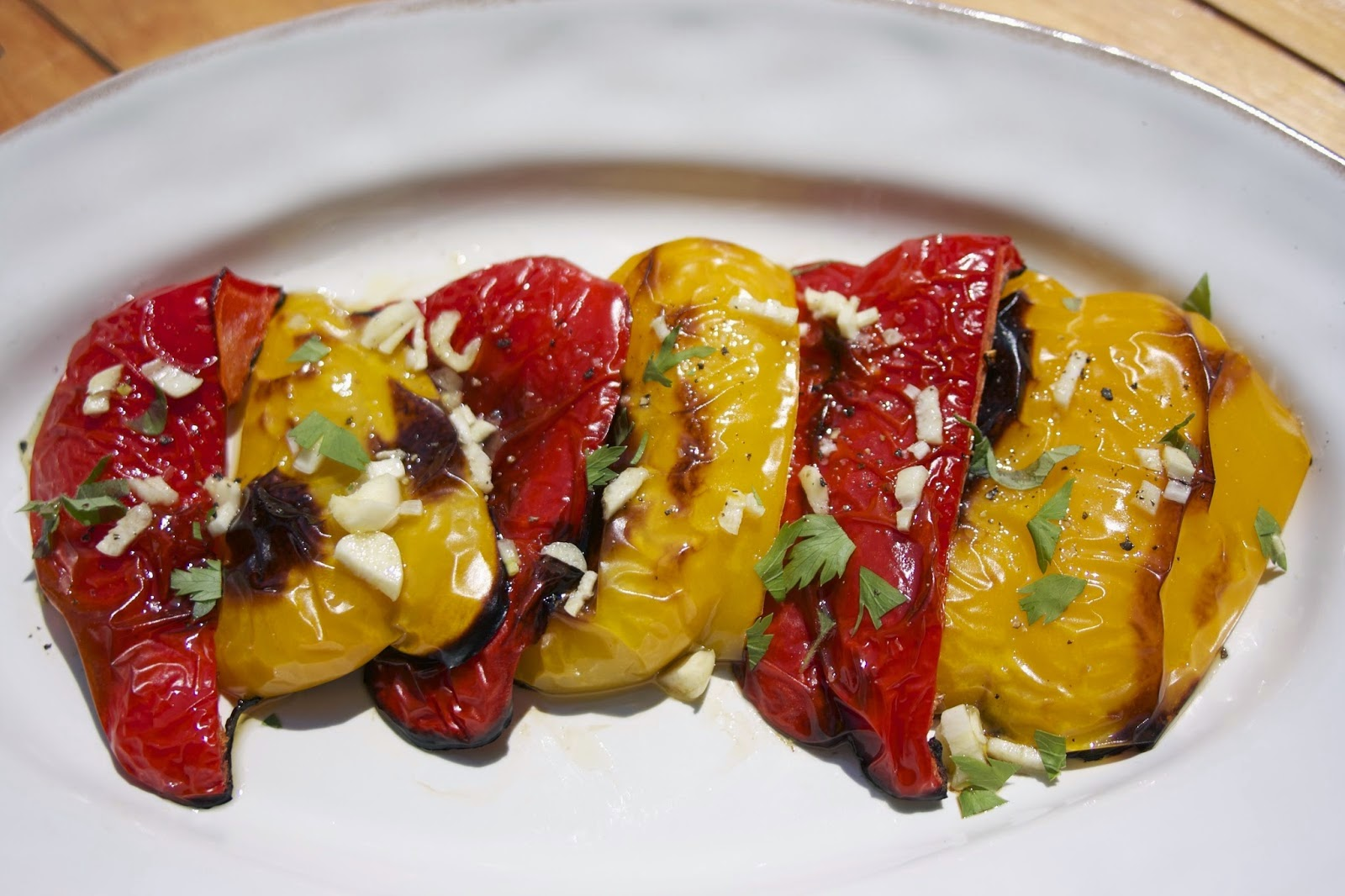 Roasted Peppers, shared by Simple Living & Eating