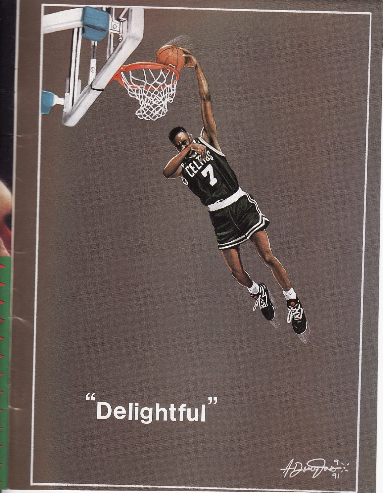 Delightful from Beckett Basketball Monthly