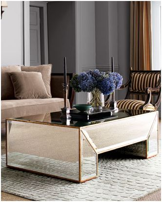 lush interiors verspiegelt. Black Bedroom Furniture Sets. Home Design Ideas