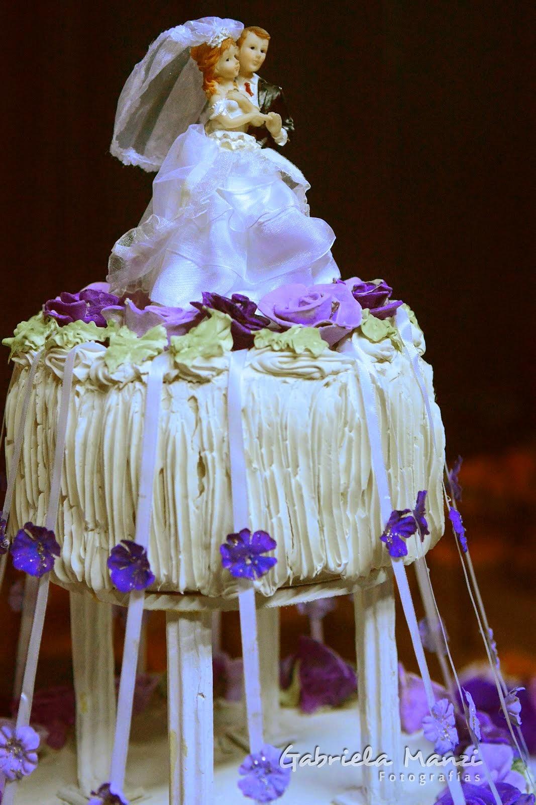La torta de bodas...