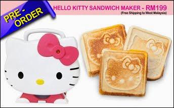 HELLO KITTY SANDWICH MAKER