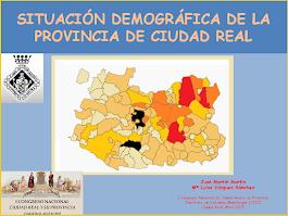 Situación Demográfica de la Provincia de Ciudad Real