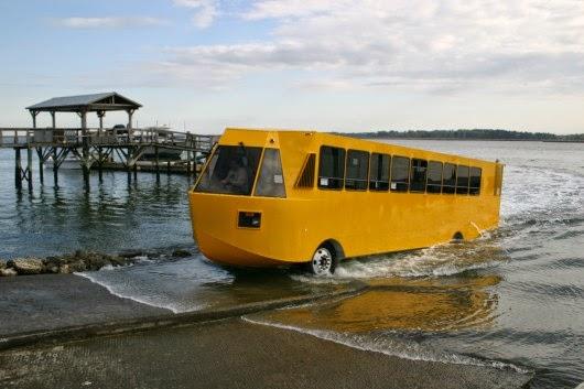 السيارات البرمائية بالصور