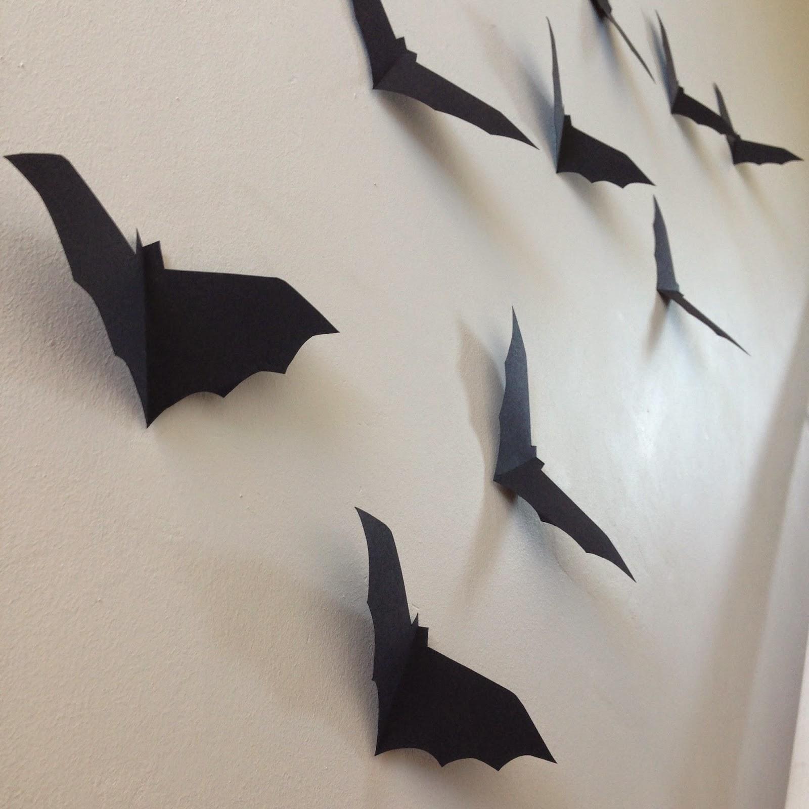 Halloween wall bats